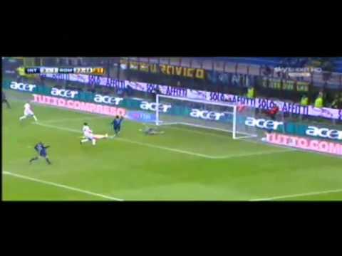 Inter - Roma 5-3 Sintesi Scarpini