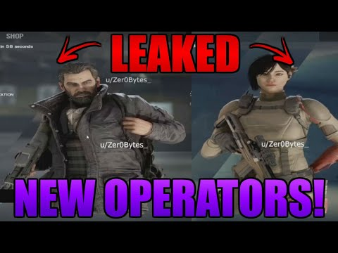 NEW OPERATORS LEAKED! (Scout and Aruni) - Rainbow Six Siege Leaks and News |