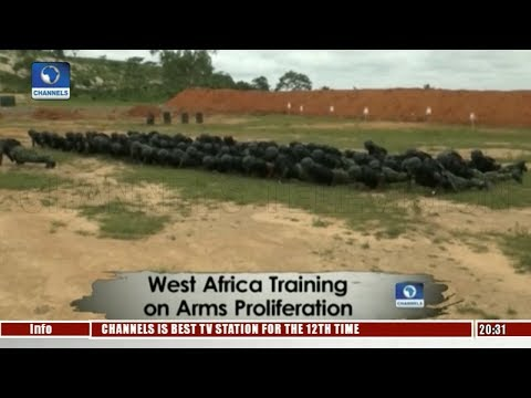 West Africa Training On Arms Proliferation |Africa54|
