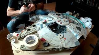 Fast Speed Build Star Wars DeAgostini Millennium Falcon - 10 Minutes