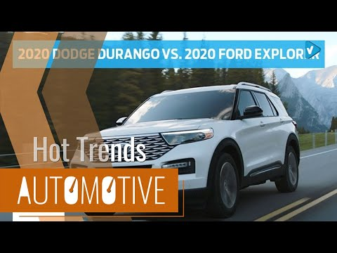 News Compare The 2020 Dodge Durango With The 2020 Ford Explorer Head To Head Ford Ford