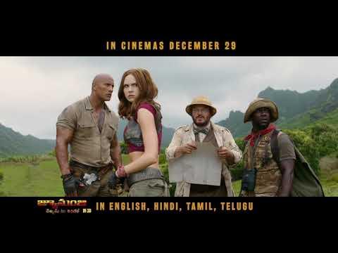Live The Adventure | Telugu | Jumanji...