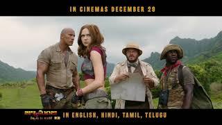 Live The Adventure | Telugu | Jumanji Movie | In Cinemas Dec 29