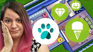 Every Room is a Different Random Pack! The Sims 4 Build Challenge
