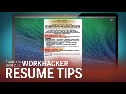 How Recruiters Look At Your Resume