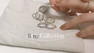 my silver ring collection✨ l 나…