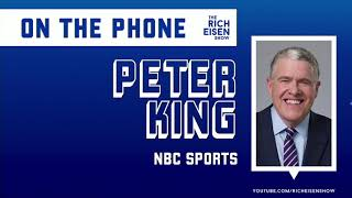 Peter King on the Possible Logistics of the 2020 NFL Draft | The Rich Eisen Show | 3/31/20