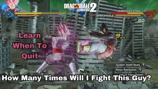 How Goku Black Faces Our Famous Cheap Tryhard Player Once Again! | Xenoverse 2