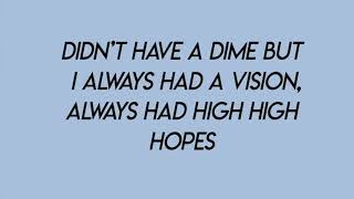 High Hopes - Panic! At The Disco (Offical Lyrics)