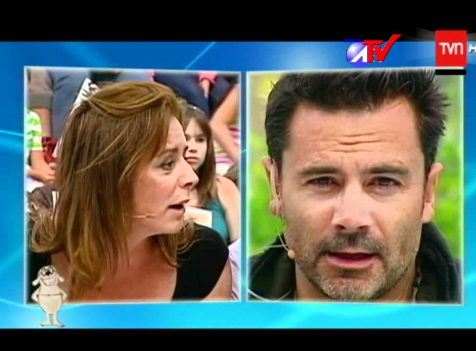 Felipe Camiroaga y Katherine Salosny (llora) - YouTube
