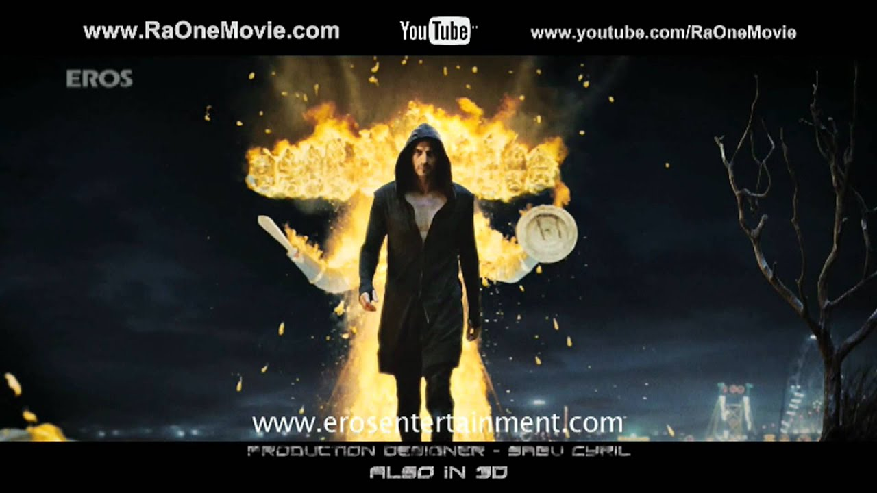 RA.One (Official Trailer) | Shahrukh Khan, Arjun Rampal & Kareena Kapoor #1