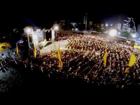 Maldivian Democratic Party (MDP) Rally 12th August 2013 - Aerial view - Clip #2