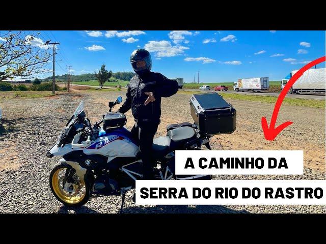 VIAGEM SOB DUAS RODAS - EXPEDIÇÃO SERRA DO RIO DO RASTRO #1