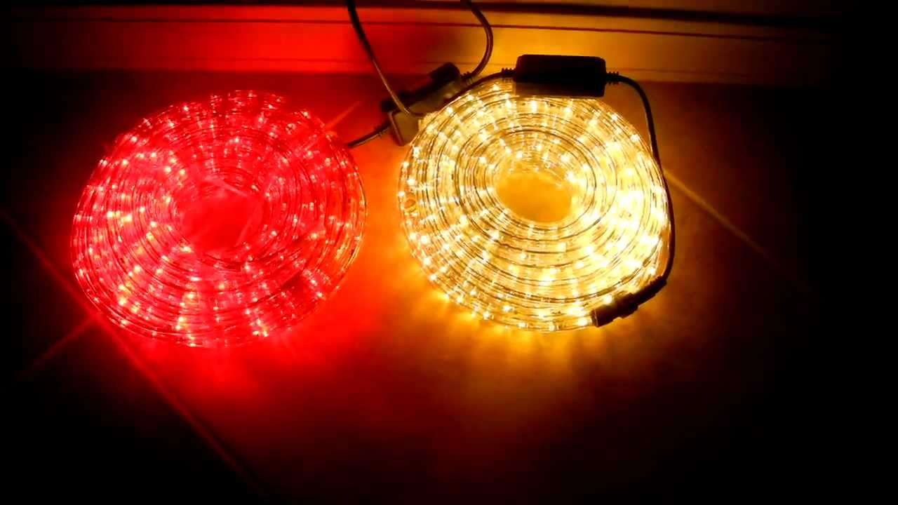 Led String Lights Stopped Working : Multi-Function LED Rope Lights - YouTube
