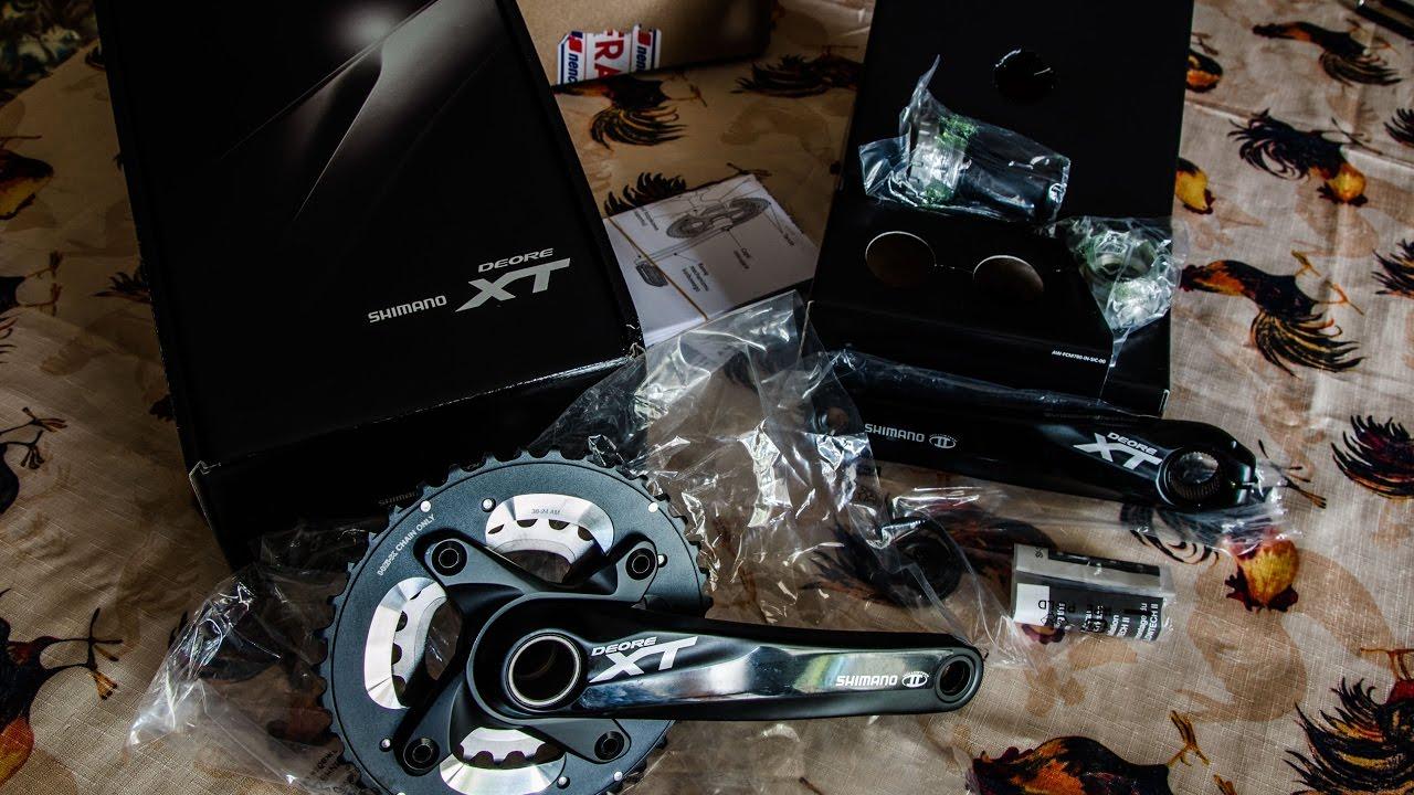 SHIMANO FC-M785 XT Crankset