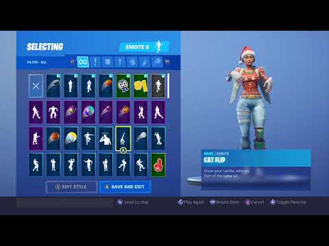 Fortnite - 225,000 Xp Lynx Emote Dance - Cat Dance With A Purr