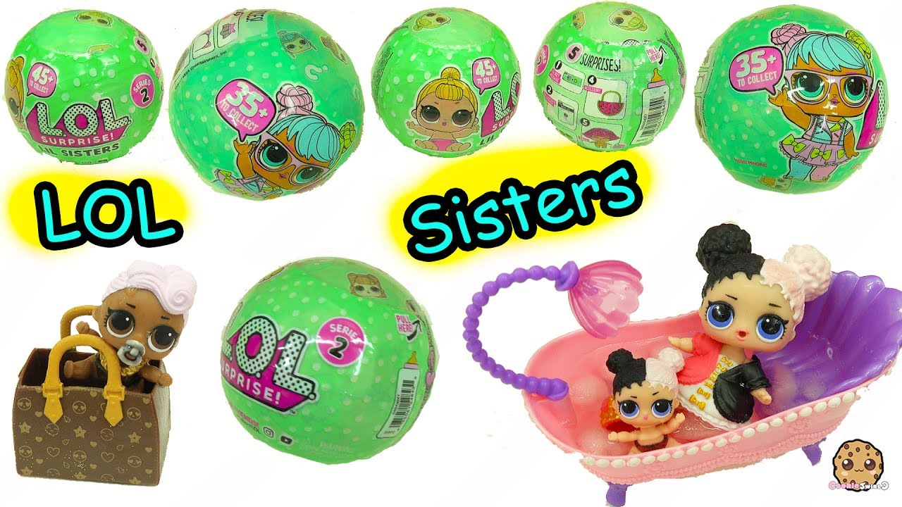 Lol Surprise Lil Sisters Series 2 Baby Dolls Blind Bag Color Minecraft 3 Way Switch Wiring Diagram Change Video