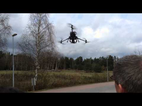 UAV Demonstration at ITC User Conference 2014
