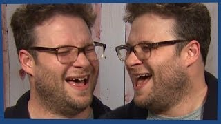 SETH ROGEN LAUGHING SUPERCUT!