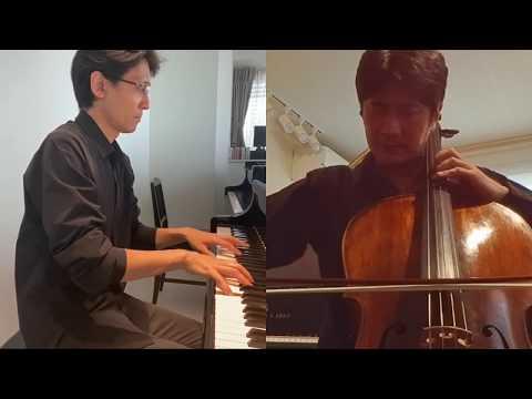 Astor Piazzolla : Ave Maria Cello : Akio Ueki Piano : Katsushige Sato