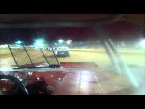 12 year old Jordan Fowler first super street race part 1 Golden isles speedway 10-16-15