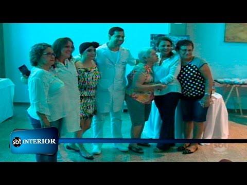 Atividades especiais marcam o dia de pacientes com câncer num Hospital de Rio Preto