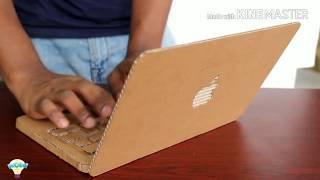 Как сделать ноутбук Apple из картона