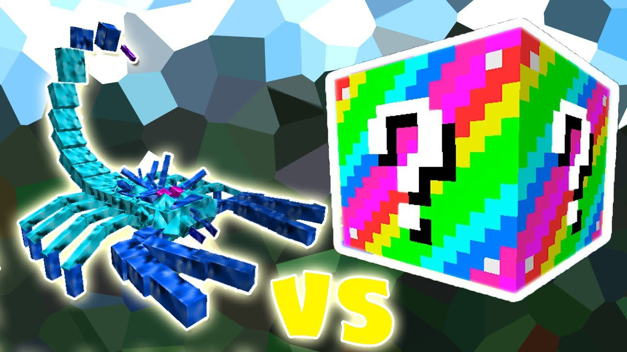 Arctic Scorpion Vs Lucky Block Extreme Minecraft Lucky Block