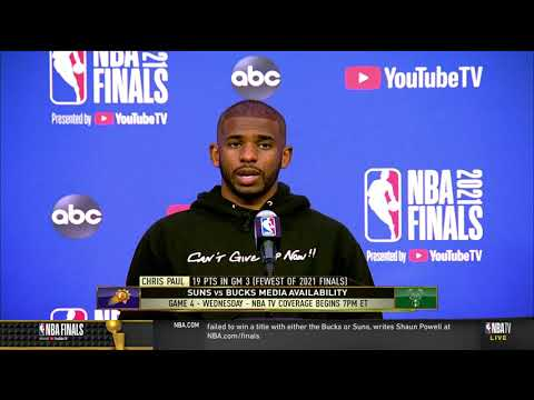 Chris Paul on Giannis Not Exactly Getting The Same Respect As Other Superstars