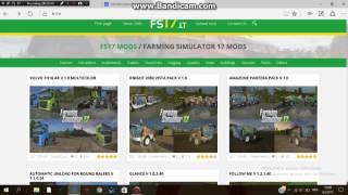 how to install mods for farming simulator 17