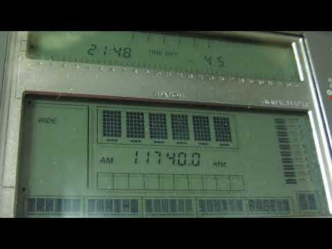 VATICAN RADIO [SANTA MARIA DI GALERIA, 250KW] — 11740 KHZ — [07 JAN. 2018 08.49 UTC]