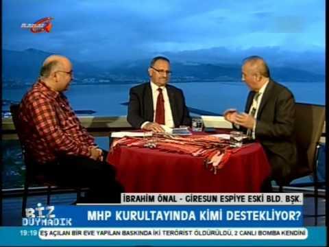 Kanal G - Necati Selvitop ile Biz Duymadık- Giresun Espiye Belediye Eski  Başkanı İbrahim Önal