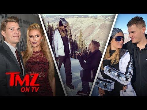Paris Hiltons Engagement Ring Is MASSIVE  TMZ TV