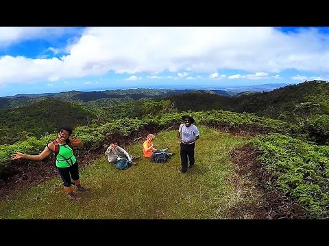 Manana Ridge Trail, Pearl City, Oahu, Hawaii (GoPro 4 Silver)