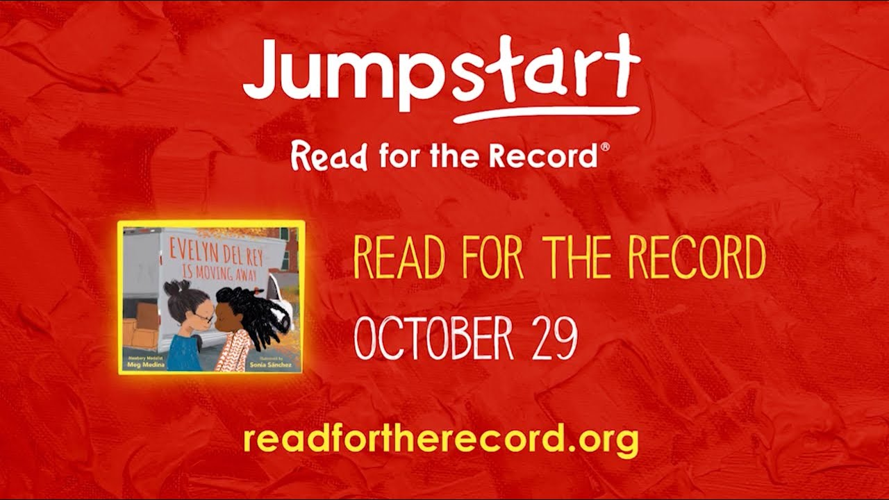 Announcing the Read for the Record 2020 Book! - YouTube