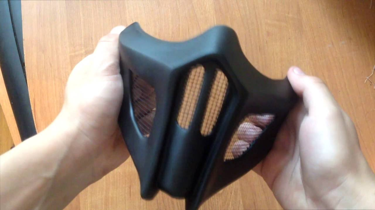 Как сделать маску скорпиона из мортал комбат фото 60