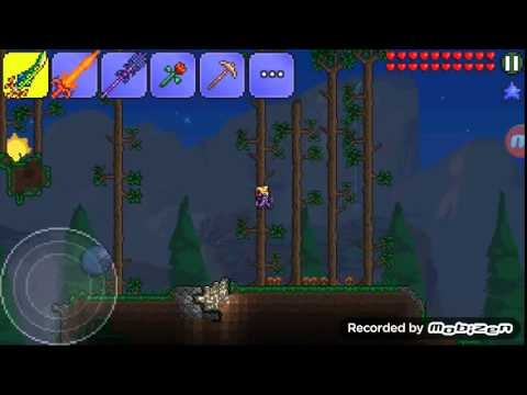 how to make weapons in terraria