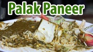 Palak Paneer (पालक पनीर) at Standard's Punjabi Khana in Delhi, India