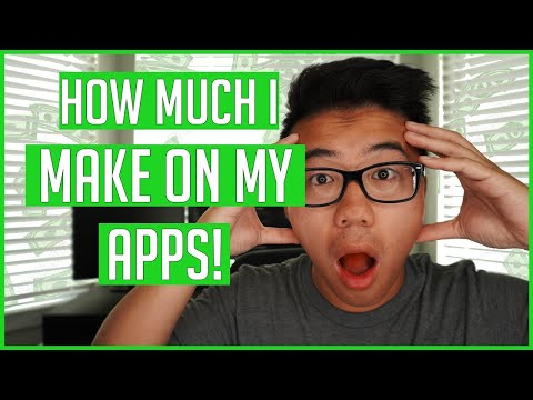 How Much Money I Make From My Apps In The App Store 2019 | Passive Income Generating Games