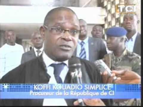 Installation du nouveau Procureur de la République...