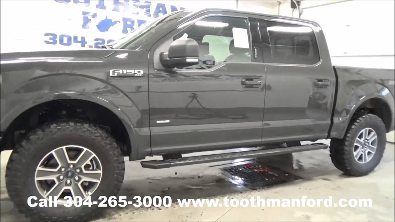new 2016 ford f 150 xlt sport for sale morgantown wv toothman ford 304 265 3000 youtube. Black Bedroom Furniture Sets. Home Design Ideas