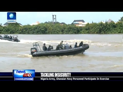 Nigerian Navy Drills New Operatives Of Special Boat Service