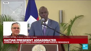 Haitian President assassinated : 'It may plunge the country into chaos' • FRANCE 24 English