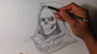 Video How to Draw Skeletor from He-Man - Skull Drawings download MP3, 3GP, MP4, WEBM, AVI, FLV Juli 2018