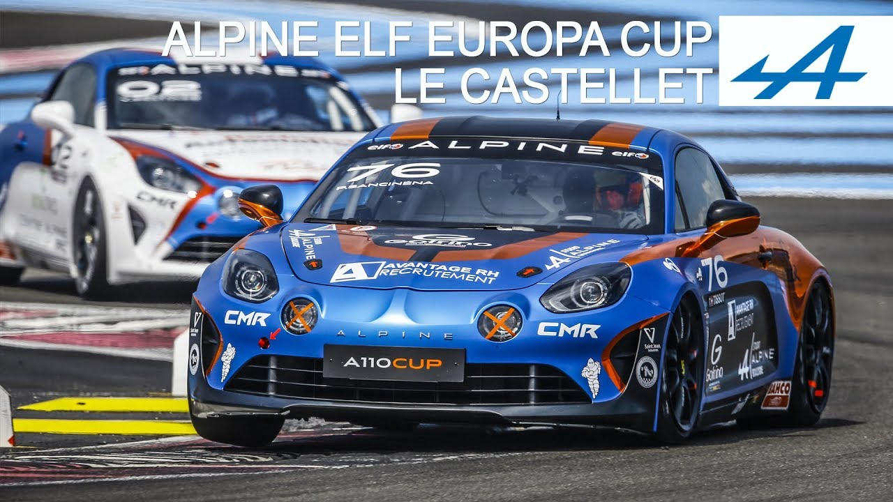 alpine elf europa cup le castellet 2018 youtube. Black Bedroom Furniture Sets. Home Design Ideas
