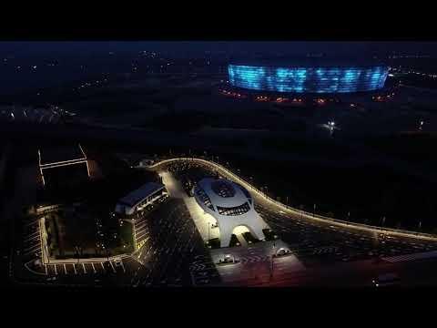 """Tosoil"" innovative&extraordinary gas station design in Baku, Azerbaijan."