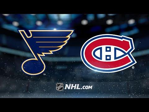 Schenn's hat trick powers Blues past Canadiens, 4-3