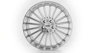 TSW Alloy Wheels - the Turbina in Silver W Mirror Face