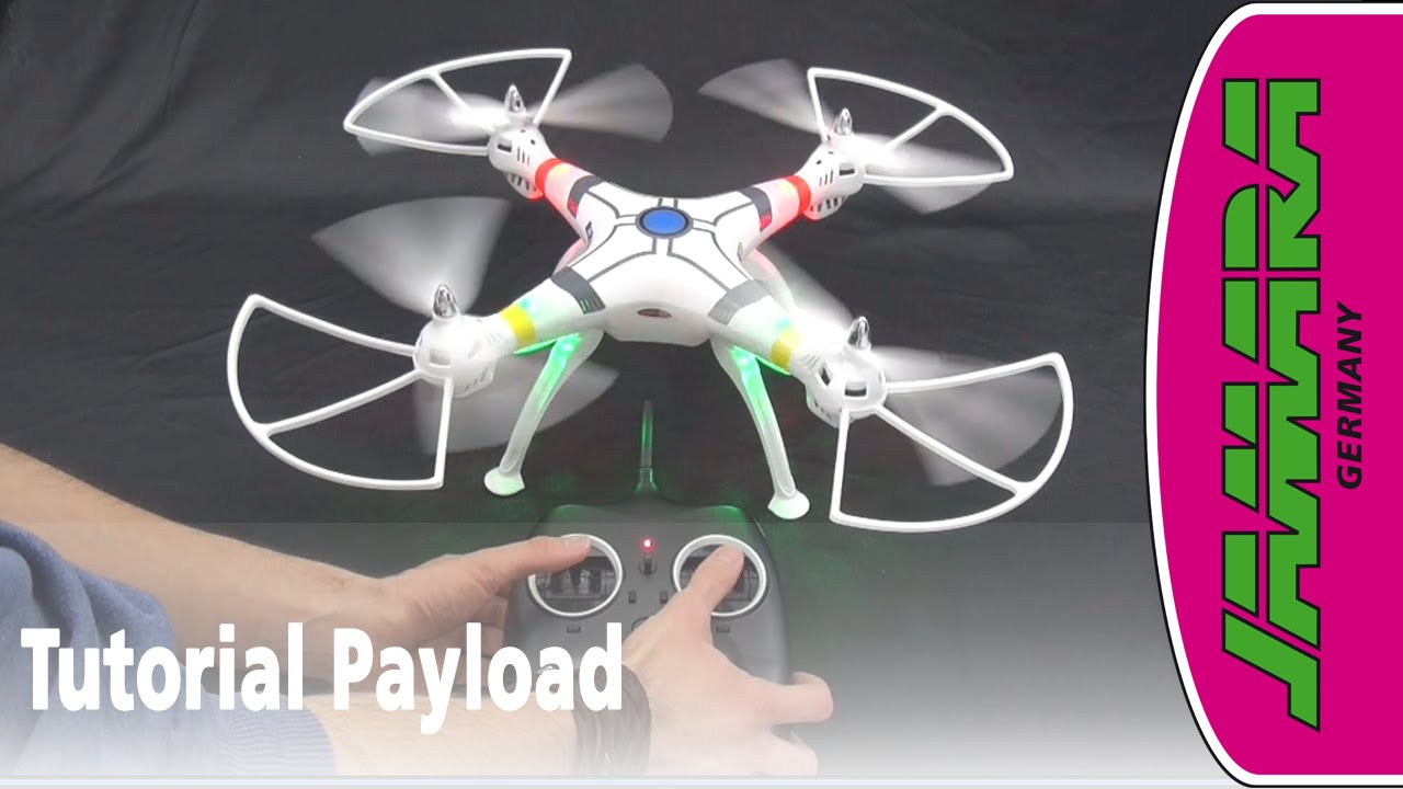 Payload Altitude Wifi FHD Quadrocopter Jamara 422014 mit Actioncam Full HD