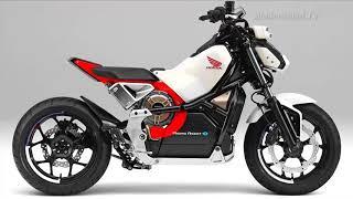 Moto eléctrica que no se cae de Honda [+]
